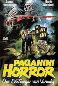 locandina di Paganini Horror (1989)