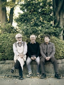 Hayao Miyazaki Toshio Suzuki Isao Takahata